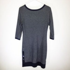 967ca1a9cf09c6 Ann Taylor Dresses - Ann Taylor Navy Sweater Dress